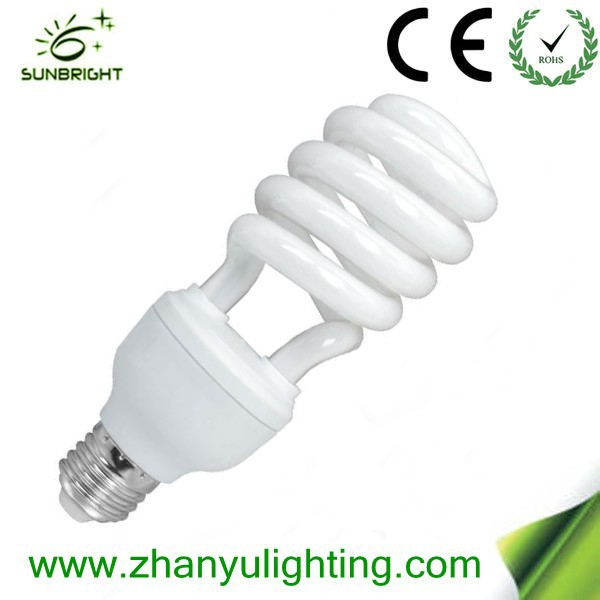 half spiral energy saving lamp economic lights bulb