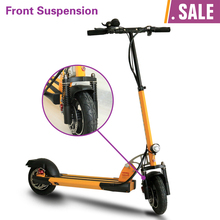 KUAIKE with front suspension 500W 48V mini portable electric scooters