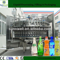 Automatic Soft Drink Sparkling Juice Bottling