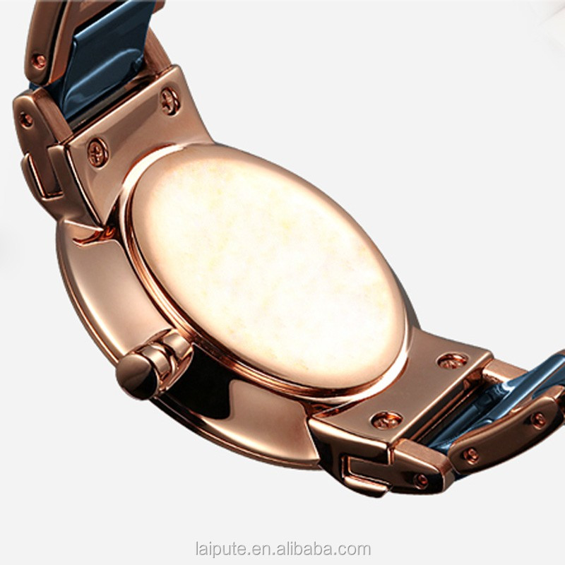 Ceramic Ladies Luxury Fashion Bracelet Watches with Fine Steel Strap minimalist 3ATM