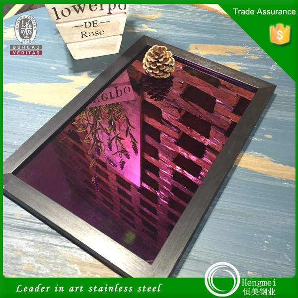 no 8 mirror finish 316 decorative stainless steel sheet for metal building materials