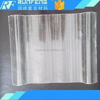 Composite FRP Roof Panels/ Colorless Transparent High Density Fiberglass Sheets