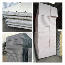 High Quality Prepainted Galvanised Steel EPS /Rock Wool /Glass Wool Sandwich Panel for Portable Building