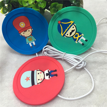 USB cup warmer coaster/Cup mat with soft pvc material