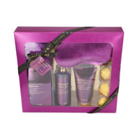 Beauty care Perfumed bath gift sets with body lotion add lavender oil