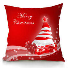Manufacturer Xmas Cushion Covers Home Decorative Holiday Custom Printing Christmas Cushion Cover