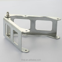 ISO factory hot dip galvanized stamping metal bracket for GSM station