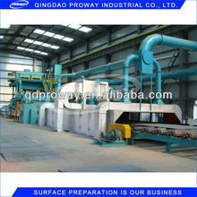 QXY Roller Bed Type Shot Blasting and Painting Machine