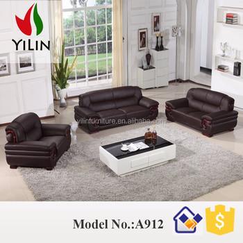 Simple But Elegant Design Genuine Leather Sofa Furniture Living Room Set  A912 - Buy Living Room Sofa Set Designs,Cheap Leather Sofa Set,Pure Leather  ...