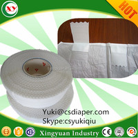 Adult baby nappies side tape