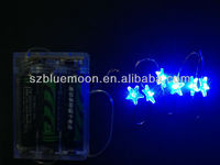 6m/60leds Cheap SMD falling star led christmas lights