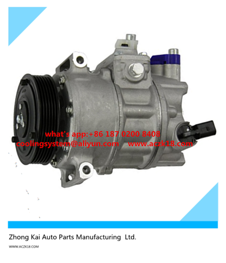Sanden PXE16 AC compressor for AUDI A3 A4 A6 VW CADDY/GOLF/TOURAN/POLO/JETTA/PASSAT SEAT SKODA Octavia 1K0820859F