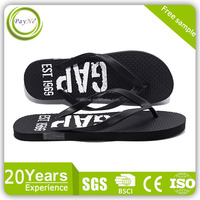 European American Design thick sole Wholesale cheap rubber flip flop