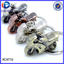 Wholesale Classic 3D Simulation Model Motorcycle Keyring