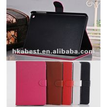 Snap on Leather Case for ipad Mini