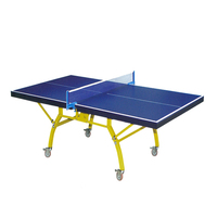 Facilities equipment indoor table tennis table