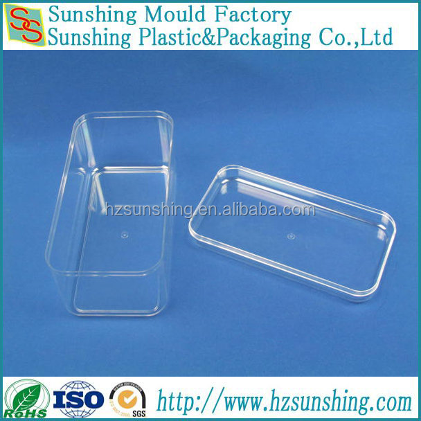 China made hard plastic candy case nougat box