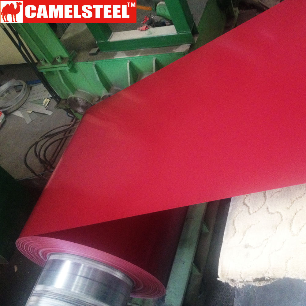 0,45 mm ral code 3004 dx51grade coating color steel coil