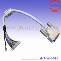 DVI lvds cable assembly for screen panel