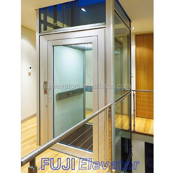 Fuji kleine zuhause hydraulischen aufzug aufzug hersteller for Small elevators