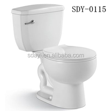 ceramic sanitary ware siphonic two piece wc cheap toilet for brazil toilet market