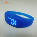 Candy Color Ultra Thin Touch Screen Red Light Waterproof Sports Silicone Digital LED Bracelet Wrist Watch Led Smart Watch