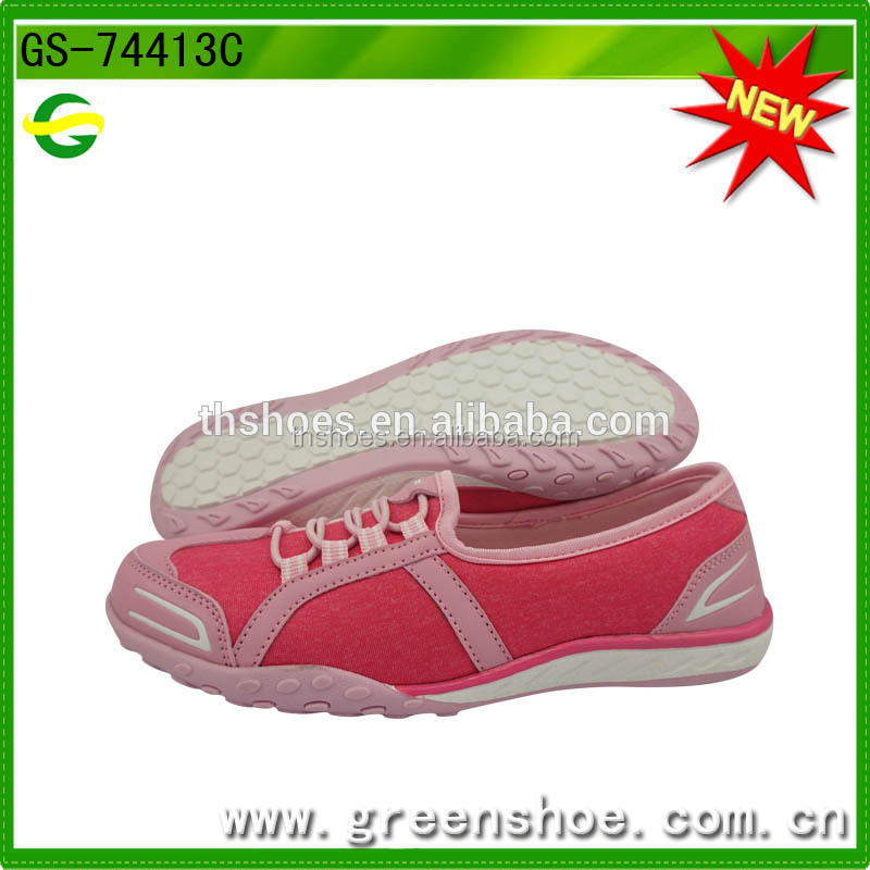 Good Quality Comfortable Fashion Casual Ladies Shoes Flat Feet Shoes