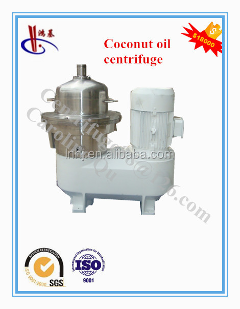 Extra Virgin Coconut Oil Disc Stack Centrifuge