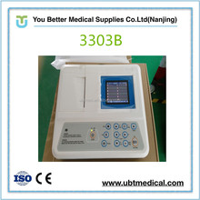 Digital Three Channel icu ecg machines 3 channel