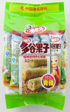 sea weeds flavor 160g Korean crispy grain roll cracker