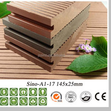 Recycled plastic lumber, wood plastic composite decks, tongue and groove decorative panel