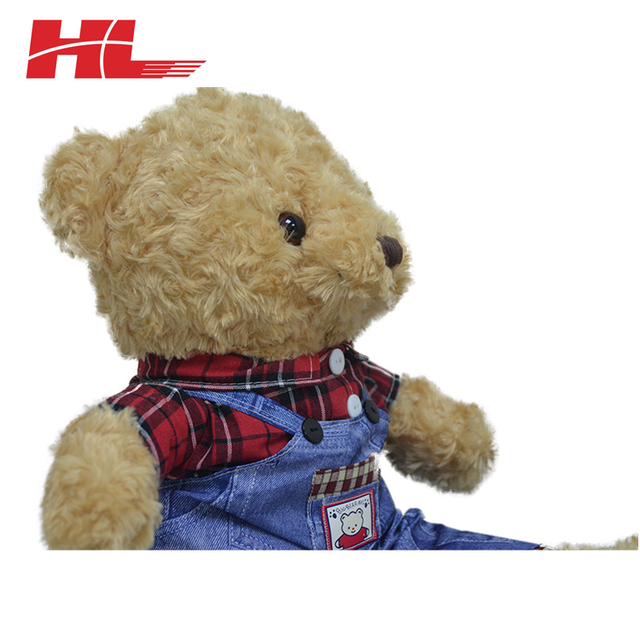 Kids Soft And Stuffed Teddy Customized Color plush toy bear