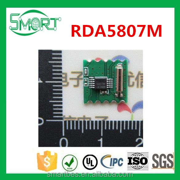 Smart Electronics~ 50pcs/lot RDA5807M RRD-102V2.0 fm stereo radio <strong>module</strong>