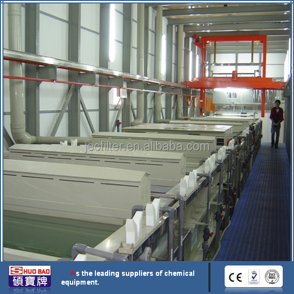 ShuoBao automatic gantry hanging plating copper melting machine