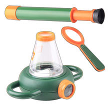 Fascinations Green Earth Insect Butterfly Live Habitat Education Kit + Magnifier