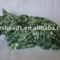 Wholesale Gemstone Animal Carving Craft For