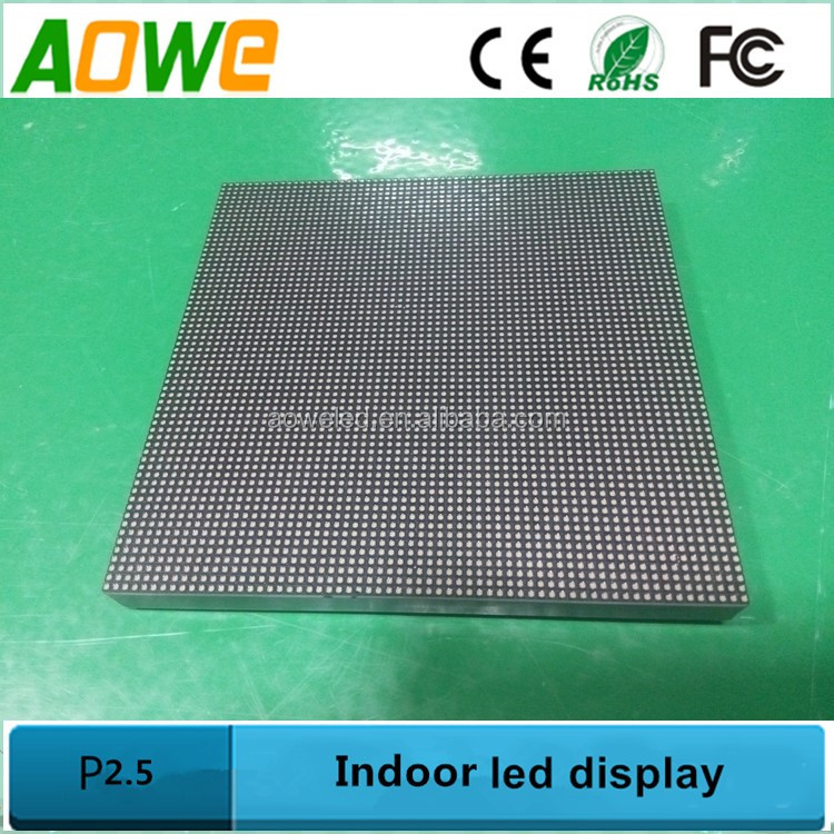 P2.5 indoor led module p2,p3,p4,p5 black lamp led screen for rental use