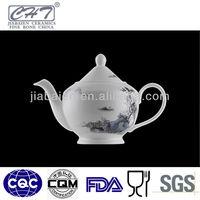 Personalized chinese ceramic porcelain decorative tea pot