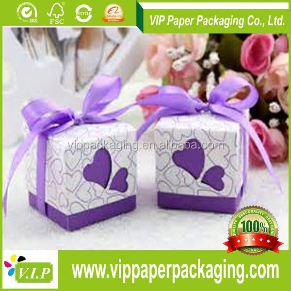BEAUTIFUL CANDY PAPER BOXES WITH ISO AND BV CERTIFICATE