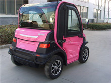 2015 new luxury design famous environment mini electric car for communities factories enterpries