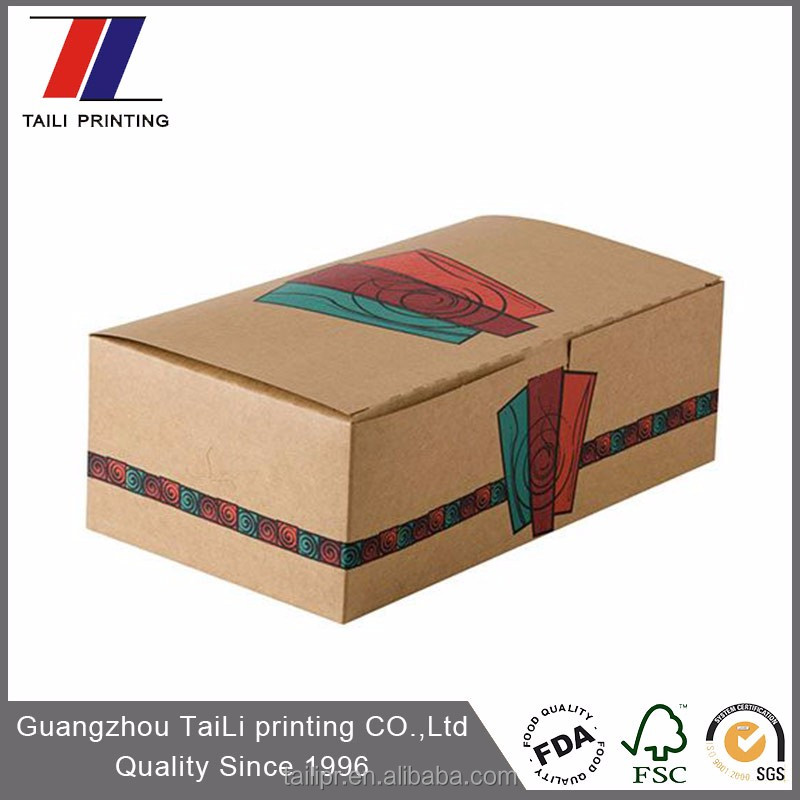 Customized Strong Structure Waxed Cardboard Boxes