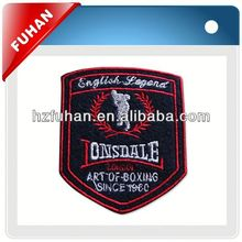 Customized embroidery fabric patch
