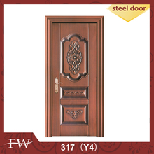 Copper color manufacturer residential iron door oriental iron gate