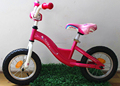 red and green color of baby walker bike with air tire on shanghai fair!