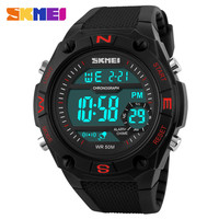 china exporter&manifacturer New Style Strong Water Resistant Men Digital Watches from