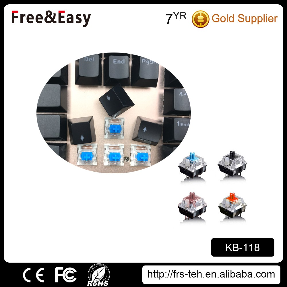 professional suspended mechanical keyboard with hand bracket