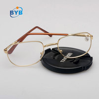 Fashion classical metal round reading glasses