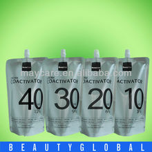 (better for salon use)2016 1000ml best hair oxygen cream/peroxide bleach hair cream developer