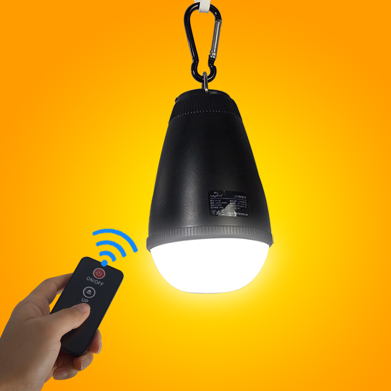 Rechargeable Hanging Remote Control Tent light for Camping Sleeping Bag