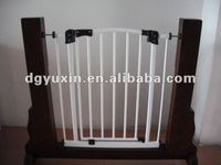 Auto close expandable pet dog gates iron doors